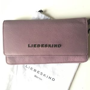 Liebeskind genuine leather wallet